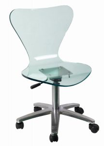 acrylic desk chair acrylic office chair
