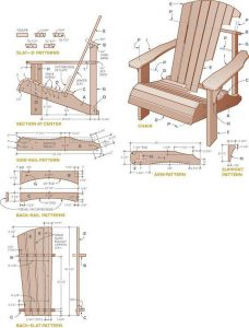 adirondack chair plans pdf adirondack chair plans and materials