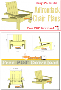 adirondack chair plans pdf simple adirondack chair plans free pdf download step by step material list