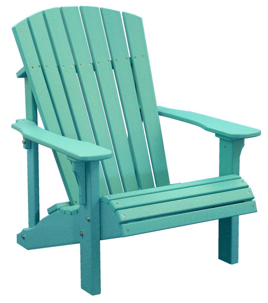adirondack chair with ottoman