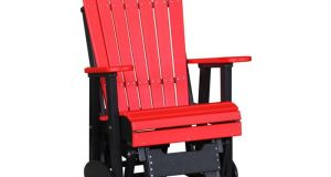 adirondack glider chair adirondack glider chair red black