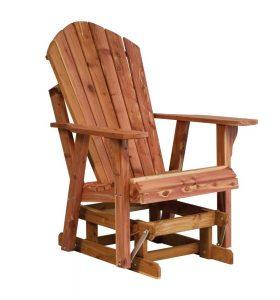adirondack glider chair pid amish adirondack glider