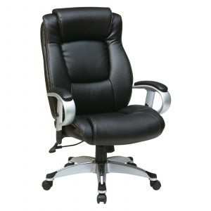 adjustable height chair office star leather seating with adjustable arms and height