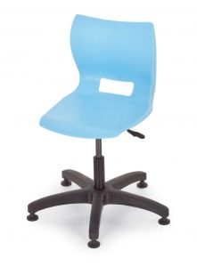adjustable height chair plato blue adjustable height chairs