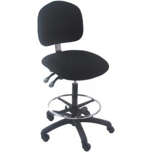 adjustable office chair bench pro mid back tall industrial office chair with adjustable seat angle