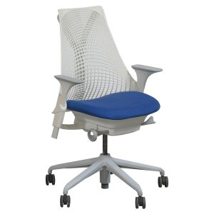 all mesh office chair herman miller sayl electric
