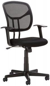 amazonbasics mid back mesh chair cybsxqsyl sl