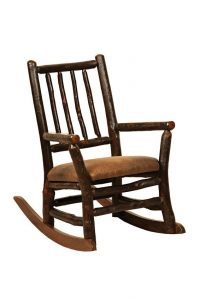amish rocking chair amish children's furniture blue mountain hickory grandpa child's rocker