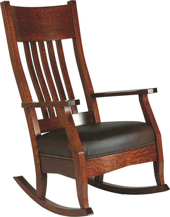 amish rocking chair pid amish mission rocker with optional footstool