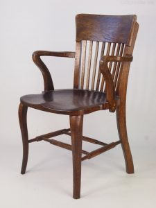 antique desk chair vintage oak desk chair asaz