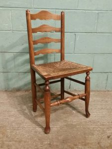 antique ladderback chair antique set country elm ladd asaz