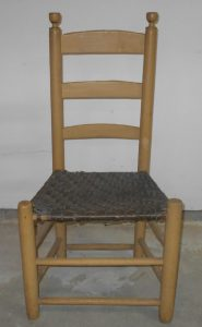 antique ladderback chair s l