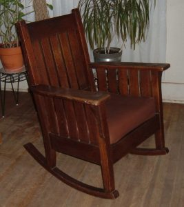 antique rocking chair styles rocking chair styles dark brown wooden mission antique product provide more comfortable seating place good condition large cushions pad soft texture