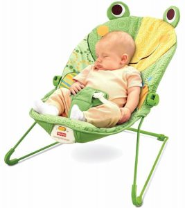 baby bouncy chair fisher price baby infant bouncer seat chair in frog green