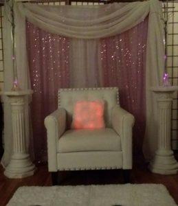 baby shower chair rental w o
