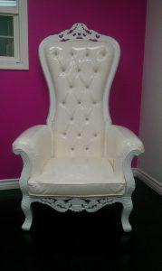 baby shower chair rental kingchairwhite