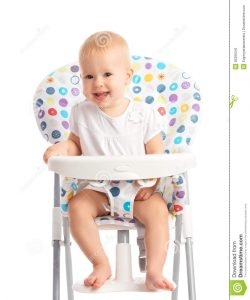 baby sitting chair baby sitting high chair isolated happy white background