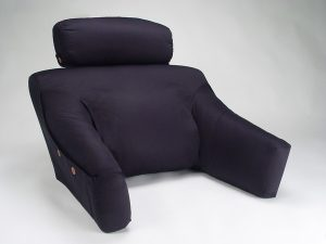back pillow for chair bed lounge black