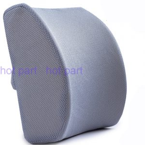 back pillow for chair confortable d mesh memory foam seat cushion lumbar back support pillow cushion for office home desk