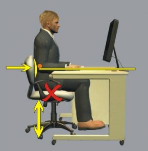 back support office chair sitprofile