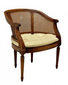 barrel back chair l