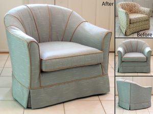 barrel chair slipcover barrel chair slipcovers before and after