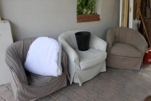 barrel chair slipcover triple barrel chair slipcovers with different color