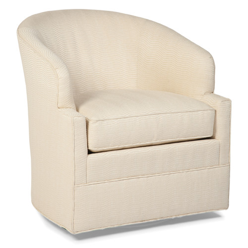 barrel swivel chair fairfield chair transitional swivel barrel chair