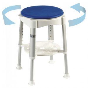 bath shower chair c swivel seat
