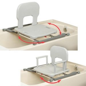 bathtub chair for disabled tub mount swivel shower seat