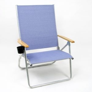 beach chair with cupholder dots tel