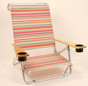 beach chair with cupholder tel