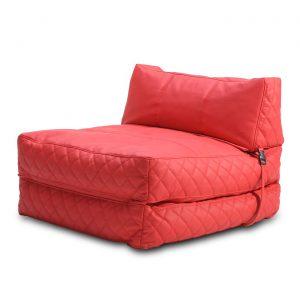bean bag chair bed adc aus bcb pux red alt