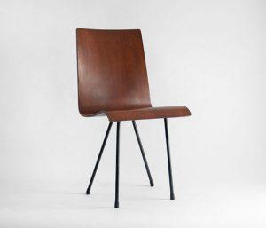 bent plywood chair il xn
