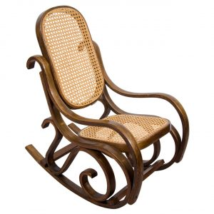 bentwood rocking chair x