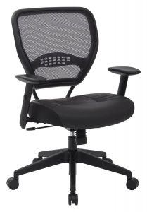 best office chair under best office chair under space seating airgrid best ergonomic office chair
