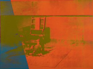 big electric chair warhol big electric chair