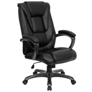 black office chair black leather office chair go b bk gg reviews