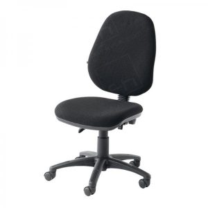 black office chair black operators chair without arms