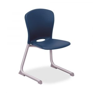 blue desk chair contemporary armless blue desk stack chair