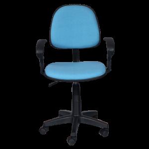 blue desk chair office chair carmen light blue