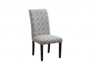 blue parson chair dbl