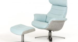 blue reclining chair charles light blue dsc