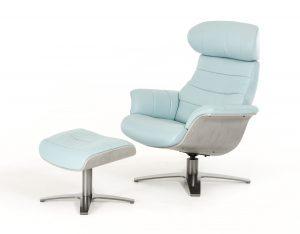 blue reclining chair charles light blue dsc