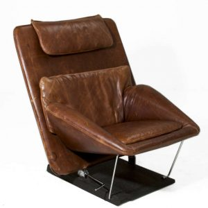 brown leather chair and ottoman brownchairotto l
