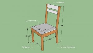 build a chair building a simple chair