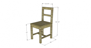 build a chair desk chair