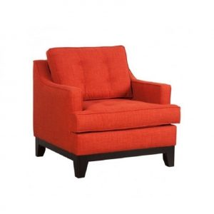 burnt orange chair l