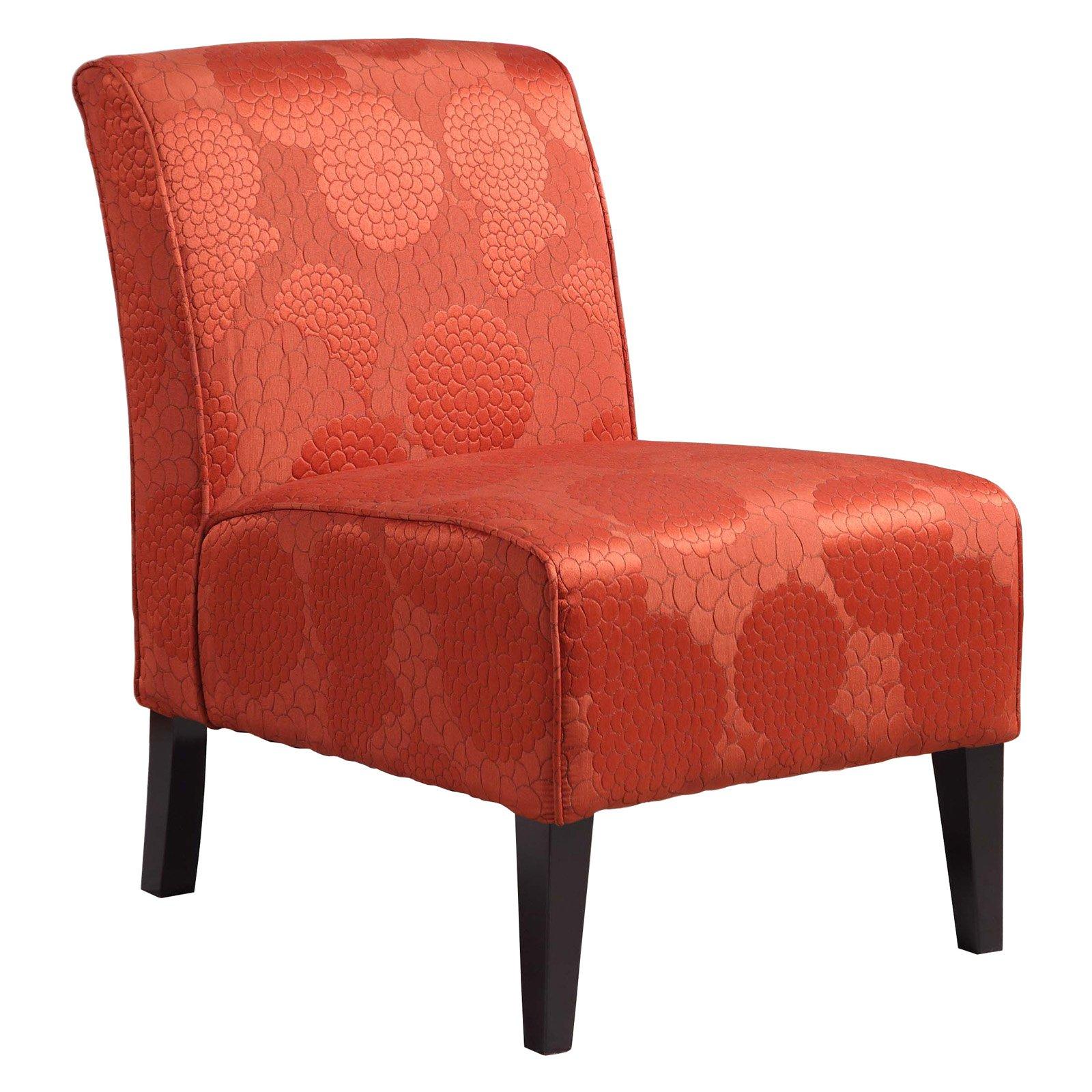 burnt orange chair