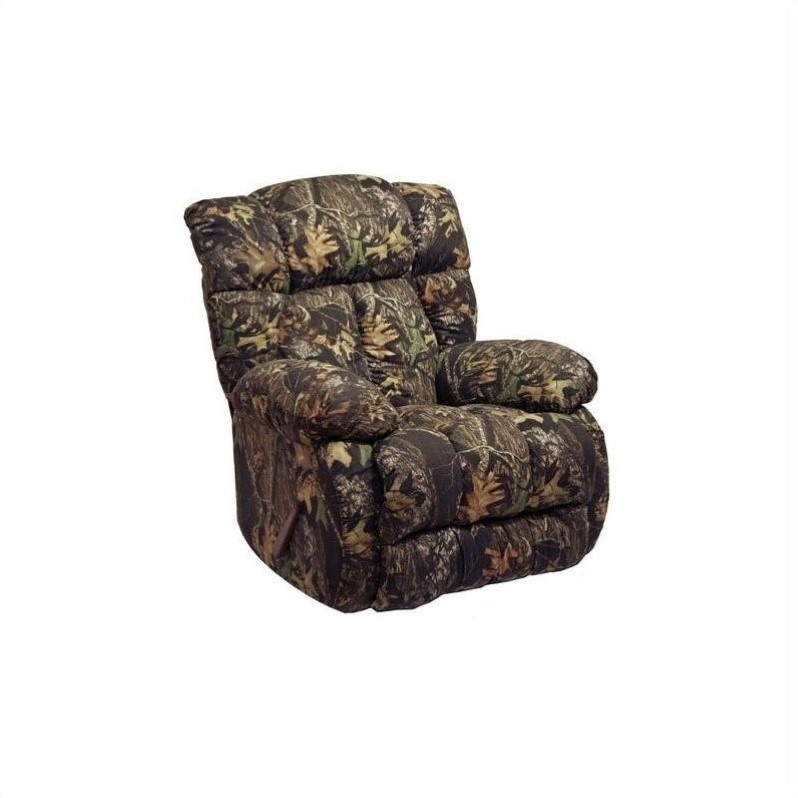 camouflage reclining chair